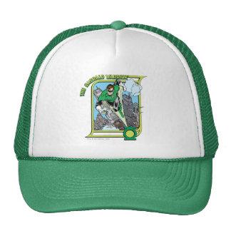 The Emerald Warrior Mesh Hat
