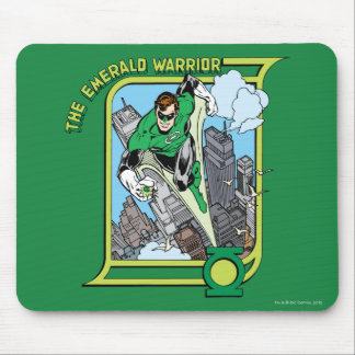The Emerald Warrior Mouse Pad