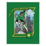 The Emerald Warrior Print