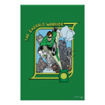 The Emerald Warrior Print