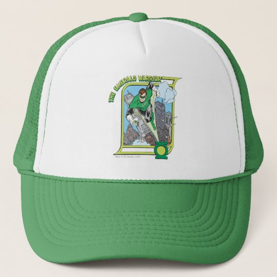 The Emerald Warrior Trucker Hat