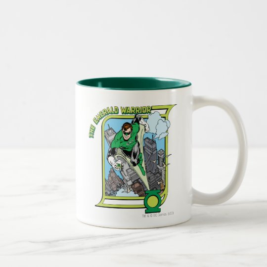 The Emerald Warrior Two-Tone Coffee Mug