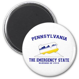 The Emergency State Fridge Magnet