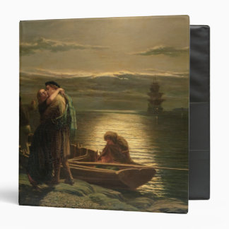 The Emigrant 1858 3 Ring Binder