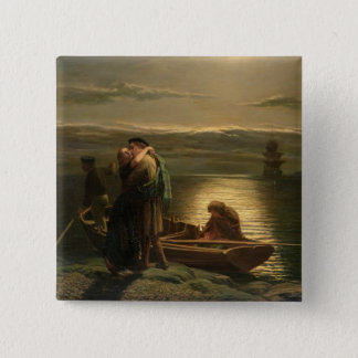 The Emigrant, 1858 Pinback Button