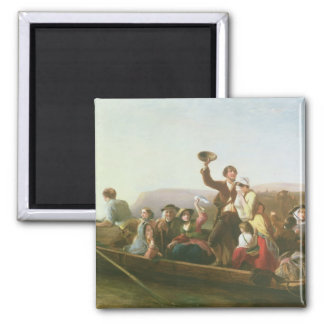 The Emigrants 2 Inch Square Magnet