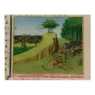 The Emperor Charlemagne Finds Roland's Postcard