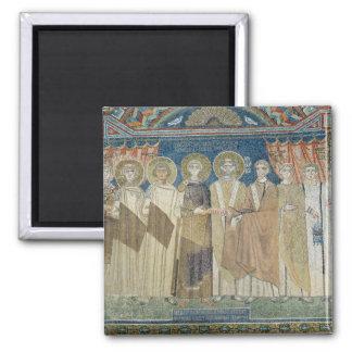 The Emperor Constantine IV grants tax immunity Magnet