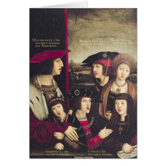 The Emperor Maximilian I Greeting Card