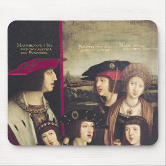 The Emperor Maximilian I Mouse Pad