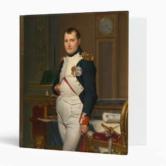 The Emperor Napoleon in His Study at the Tuileries 3 Ring Binder