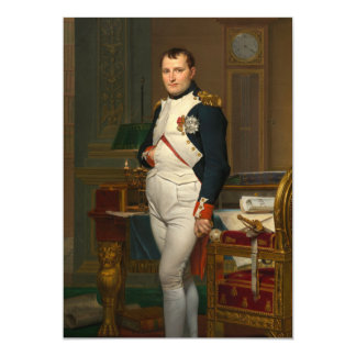 The Emperor Napoleon in His Study at the Tuileries Card