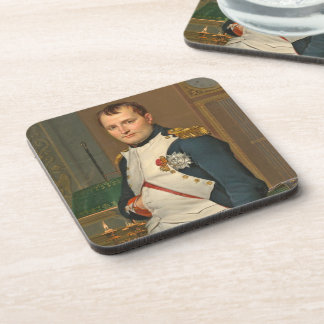 The Emperor Napoleon in His Study at the Tuileries Drink Coaster