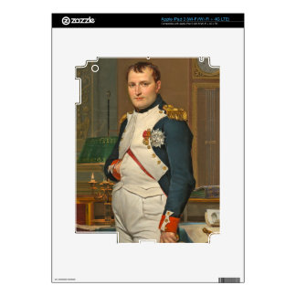 The Emperor Napoleon in His Study at the Tuileries iPad 3 Skins