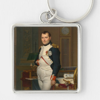 The Emperor Napoleon in his study at the Tuileries Keychains