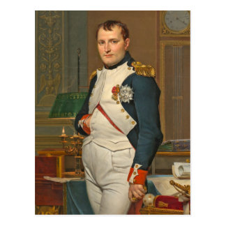 The Emperor Napoleon in His Study at the Tuileries Postcard