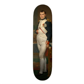 The Emperor Napoleon in His Study at the Tuileries Skateboard Deck