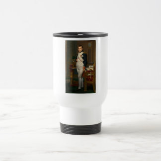 The Emperor Napoleon in his study at the Tuileries Travel Mug