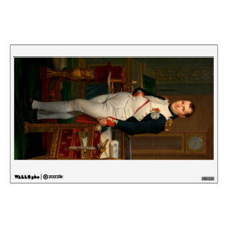 The Emperor Napoleon in his study at the Tuileries Wall Sticker