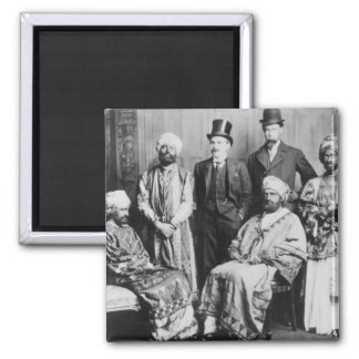 The Emperor of Abyssinia and his Court' Magnet