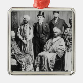 The Emperor of Abyssinia and his Court' Metal Ornament