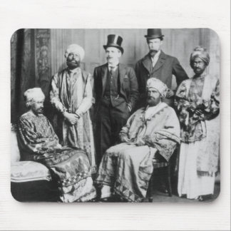 The Emperor of Abyssinia and his Court' Mouse Pad