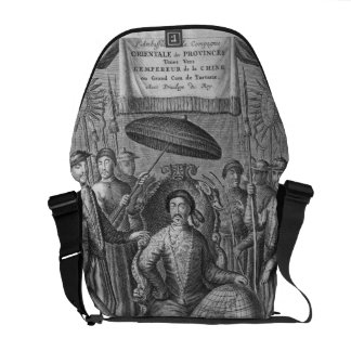 The Emperor of China, frontispiece to an account o Messenger Bag