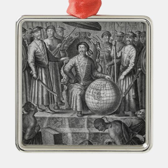 The Emperor of China, frontispiece to an account o Metal Ornament