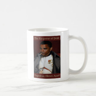 The Emperor of Debt Classic White Coffee Mug