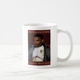 The Emperor of Debt Coffee Mug