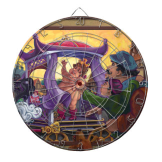 The Emperor's New Clothes Art Dartboard With Darts