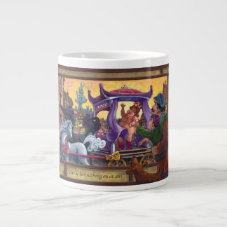 The Emperor's New Clothes Art Giant Coffee Mug