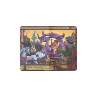 The Emperor's New Clothes Art Pocket Moleskine Notebook