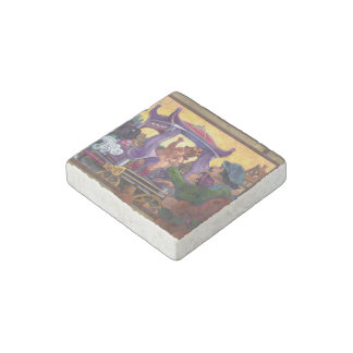 The Emperor's New Clothes Stone Magnet