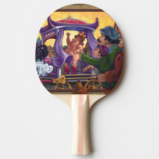 The Emperor's New Clothes Ping-Pong Paddle