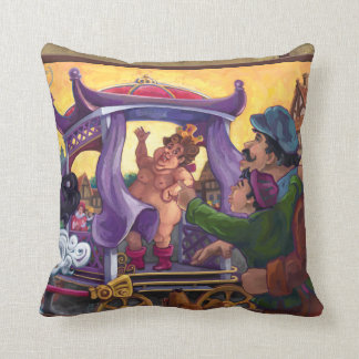 The Emperor's New Clothes Pillow
