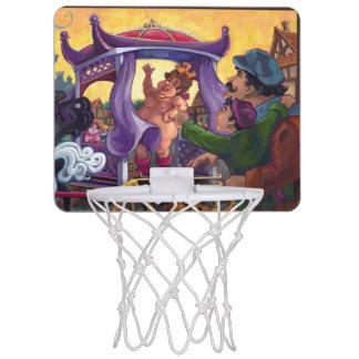 The Emperor's New Clothes Mini Basketball Backboard