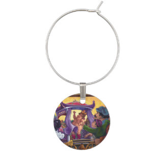 The Emperor's New Clothes Wine Charm