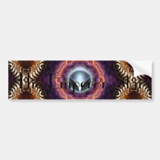 The Emperor Star Bumper Sticker