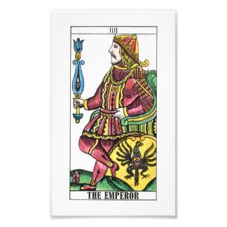 The Emperor Tarot Card Photo Art