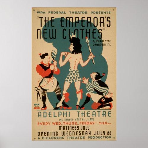 The Emperor's New Clothes Vintage WPA Theatre