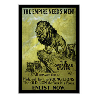 The Empire Needs Men Poster