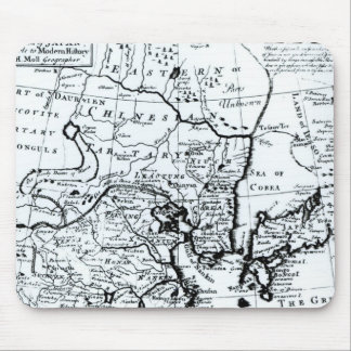 The Empire of China and Island of Japan Mouse Pad