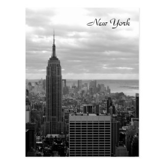 The Empire State Building (Black & White) Postcard