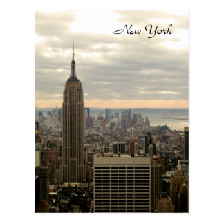 The Empire State Building (Color) Postcard