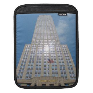 The Empire State Building, NYC iPad Sleeves
