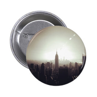The Empire State Building, NYC Pin Redondo 5 Cm