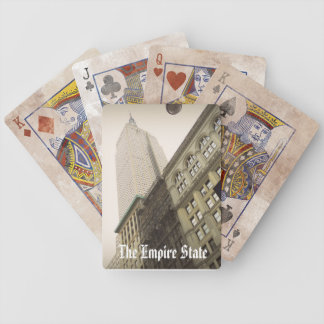 The Empire State Building Playing Cards