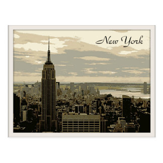 The Empire State Building Postcard