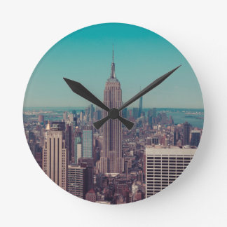 The Empire State Building Round Clock